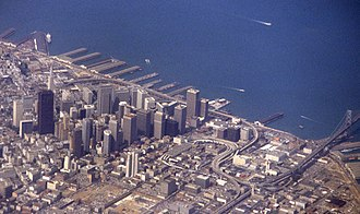 California State Route 480 - Image: Embarcadero 1978