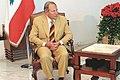 Emile Lahoud President of Lebanon and Samir Sammoun (cropped) 3.jpg