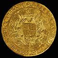 England (Great Britain) Sovereign of Elizabeth I (rev).jpg