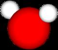 Enkel modell av eit vassmolekyl.png