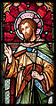 Enniscorthy St. Aidan's Cathedral West Aisle First Window Apostle Jacobus Minor Detail 2009 09 28.jpg