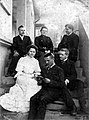 Ensemble of the first Slovak theater performance in Stara Pazova (1903).jpg