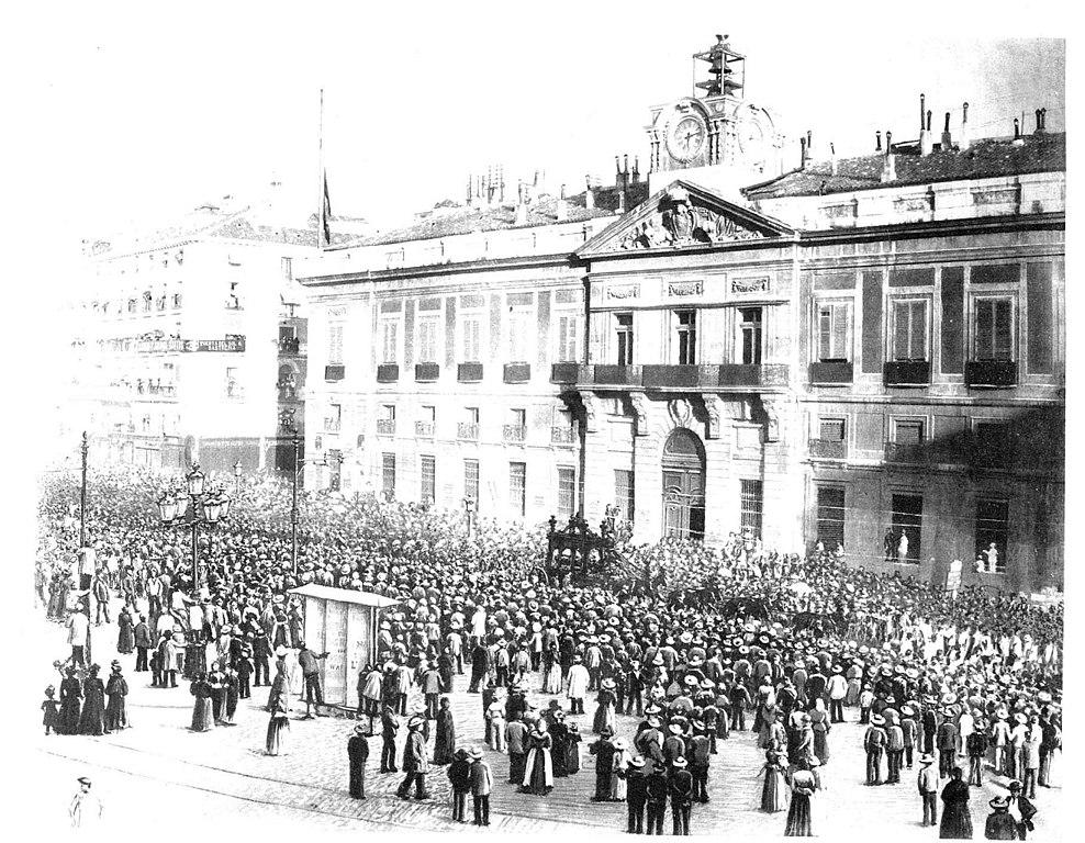 Archivo Entierro De Castelar Puerta Del Sol En El Mundo