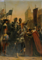 Entrée des Français à Bordeaux repris sur les anglais le 23 juin 1451.png
