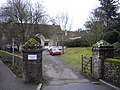 Entrance to St Mary's Abbey, Swan Street West Malling - geograph.org.uk - 1751923.jpg
