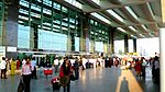 Entrance to arrivals area of Kempegowda Airport, Feb 2012.jpg