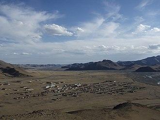 Bayankhongor - Image: Erdenetsogt Soum (Эрдэнэцогт сум), South panoramio
