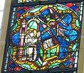 Erfurt Barfüßerkirche - Franziskusfenster 2 Stigmatisation.jpg