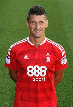Eric Lichaj - Lichaj with Nottingham Forest in 2016
