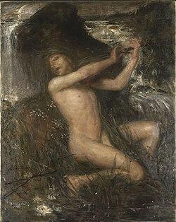 JOSEPHSON Ernst The Water Sprite 1882