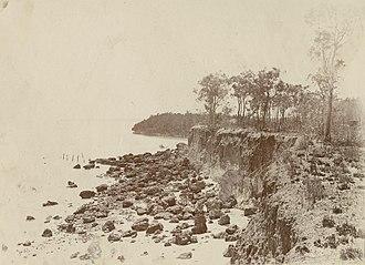 Escape Cliffs - Escape Cliffs Northern Territory, looking north east