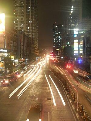 España Boulevard - España Boulevard near University of Santo Tomas