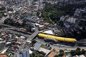 Salvador Metro - Brotas (Itaipava Arena Fonte Nova) metro station.