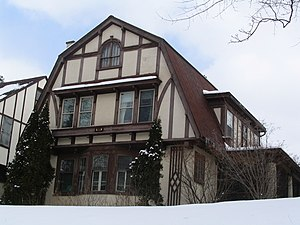Estabrook House (Syracuse, New York) - Image: Estabrook House (Syracuse, New York)