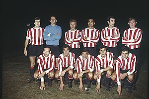 Copa Libertadores - The Estudiantes de La Plata squad that won the title in 1968, 1969 and 1970