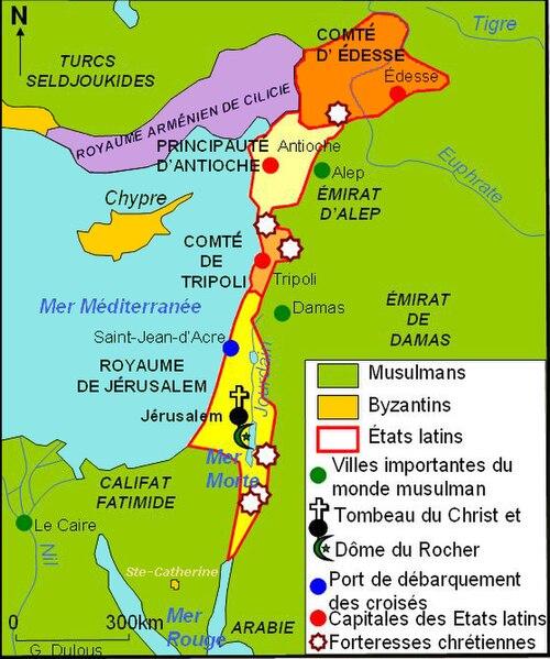Fichier:Etats latins d'Orient XIIe s.JPG
