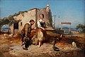 Eugène Lepoittevin, Sancho remettant à Dulcinée le message de Don Quichotte, 1847, private collection.jpg