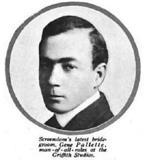 Eugene Pallette - Photoplay Magazine, December, 1915