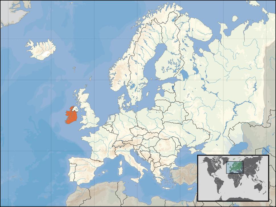 Položaj Irske