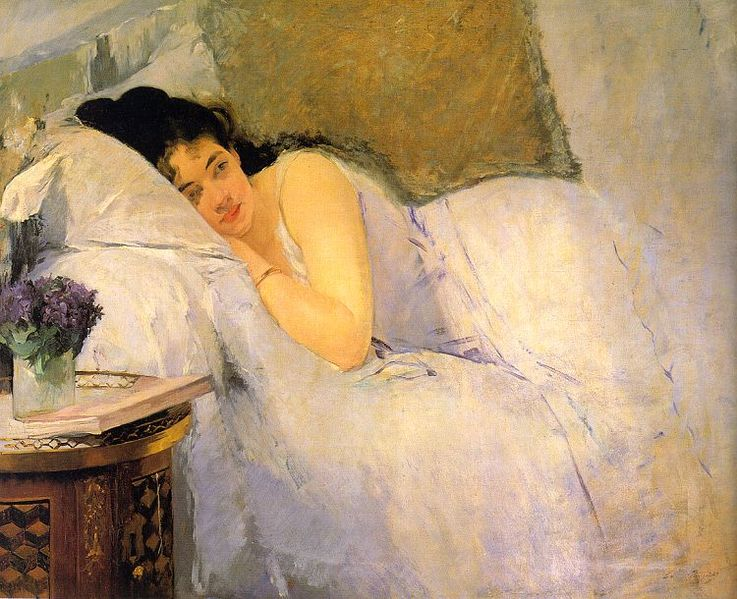 File:Eva Gonzalès - Morning Awakening.jpg