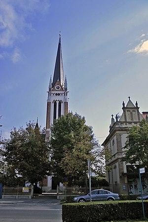 Evangeličanska cerkev, Murska Sobota. Evangeli...
