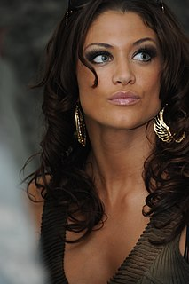 Eve Torres American actress, dancer, model and professional wrestler