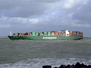 Ever Urban p4, leaving Port of Rotterdam, Holland 21-Jan-2007.jpg