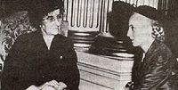 Evita y Golda Meir