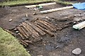 Excavation of mediaeval wooden trackway - geograph.org.uk - 9791.jpg