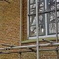 Exterieur NOORDGEVEL, SCHADE AAN NATUURSTEEN, BAKSTEEN, RAAMTRACERING - Blijham - 20276560 - RCE.jpg