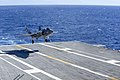 F-35C Lightening II aboard USS Dwight D. Eisenhower (21752344888).jpg