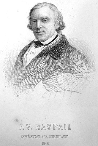 François-Vincent Raspail - FV Raspail, gravure (1848)