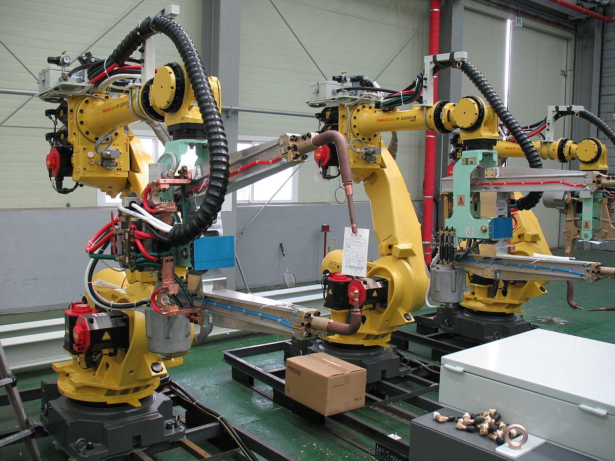 Робот промышленный картинки