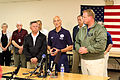 FEMA - 35655 - DHS Secretary Michael Chertoff with Governors in Iowa.jpg
