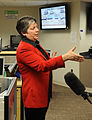 FEMA - 39881 - DHS Secretary Janet Napolitano answers questions from the press.jpg