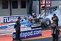 FIA Top Fuel Dragster pre-race burnout - Santa Pod.jpg