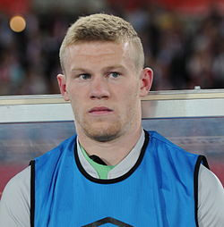 FIFA WC-qualification 2014 - Austria vs Ireland 2013-09-10 - James McClean 01.jpg
