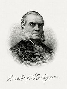 FOLGER, Charles J-Treasury (BEP engraved portrait)