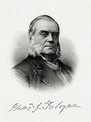 Charles J. Folger - Bureau of Engraving and Printing portrait of Folger as Secretary of the Treasury.