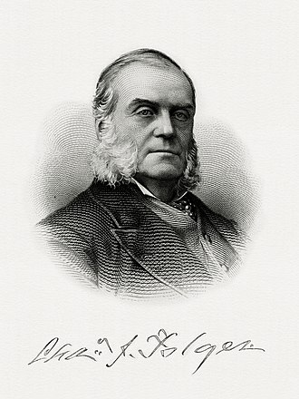 Charles J. Folger - Bureau of Engraving and Printing portrait of Folger as Secretary of the Treasury.
