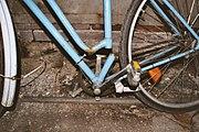 Fahrradrahmen gebrochen
