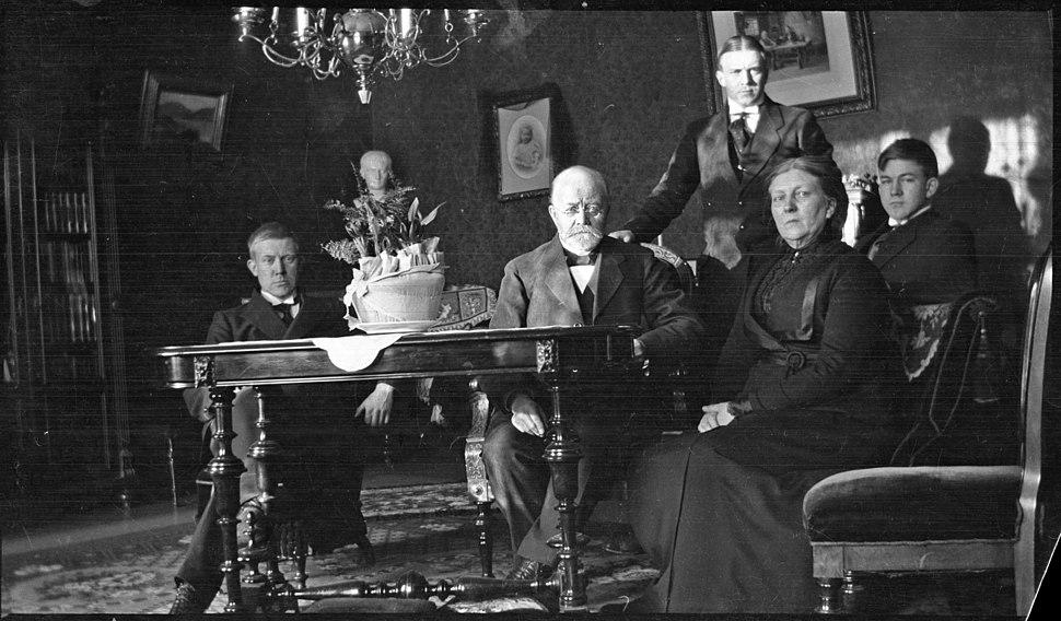 Familien Quisling ca. 1915.