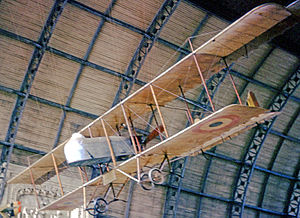 Farman MF.11 - Farman F11-A2 of the Belgian Air Force displayed in the Brussels War Museum in July 1965