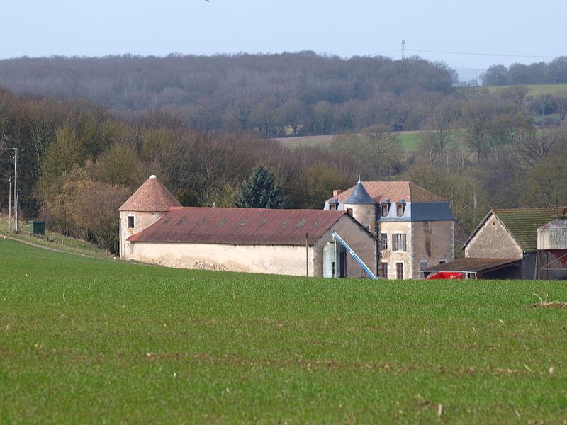 Faverelles (Loiret, France); Château et ferme de Foiseau
