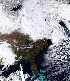 February 25–27, 2010 North American blizzard