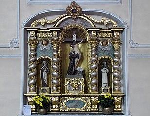 retable du Christ déposé de la Croix par saint François