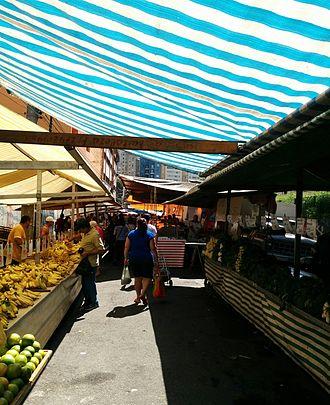 Haja Coração - One of the markets in São Paulo that serves as filming site