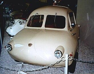 Felber Autoroller - Image: Felber Möve 1954