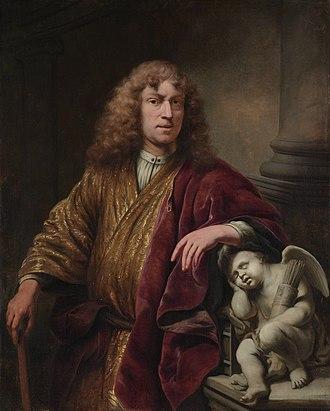 Ferdinand Bol - Self-portrait by Ferdinand Bol