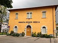 Ferrovia Spoleto - Norcia. Stazione di Spoleto.JPG